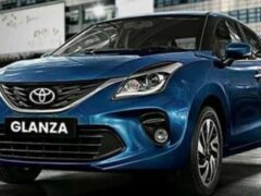 Рекорды продаж ставит Toyota Glanza на базе Suzuki Baleno