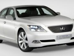 Lexus запатентовал новый товарный знак LX600