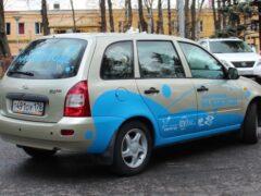 Lada Kalina превратили электромобиль на водороде