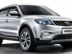 Geely обновил кроссовер Vision X6