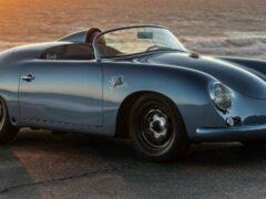 Разбитый купе Porsche 356 стал шикарным спидстером