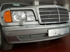 В Сети продают Mercedes-Benz 560 SEL 1986 года почти без пробега