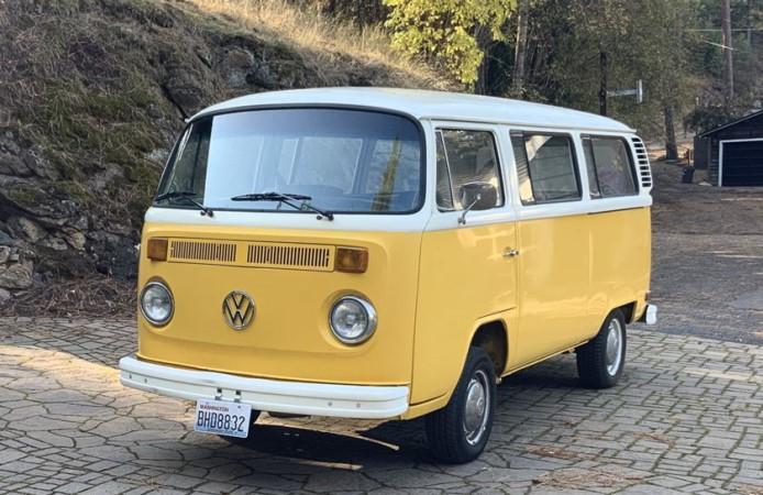 Volkswagen 1973 автобус