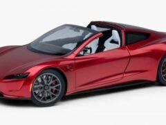 Tesla продает спорткар Roadster за 250 долларов