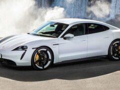 Электрокар Porsche Taycan будет заряжаться быстрее