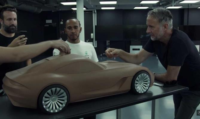 Mercedes-AMG GT новое купе рендеры