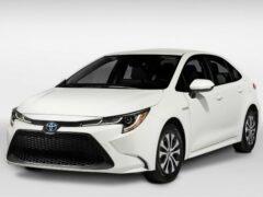 Седан Toyota Corolla получил версию Altis GR Sport