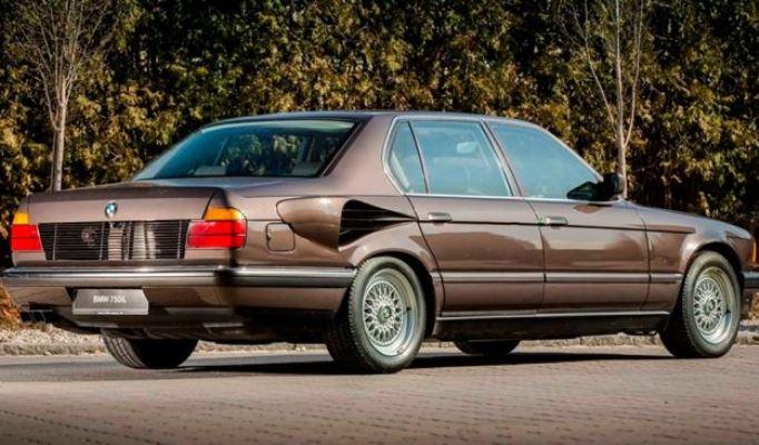 BMW E32 с двигателем V16