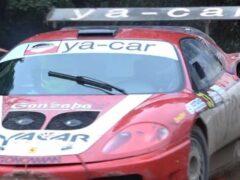 Суперкар Ferrari переделали в раллийный автомобиль