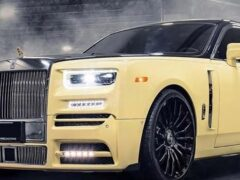 В Mansory доработали Rolls-Royce Phantom по спецзаказу рэпера Дрейка