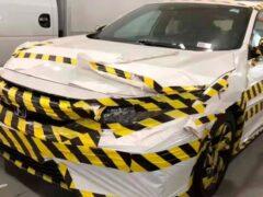Камуфляж Honda Civic 2020 поразил очевидцев