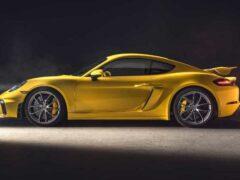 Porsche 718 Boxster и Cayman GTS в России получили новые двигатели