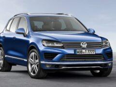Volkswagen Touareg получил в России новую комплектацию Business