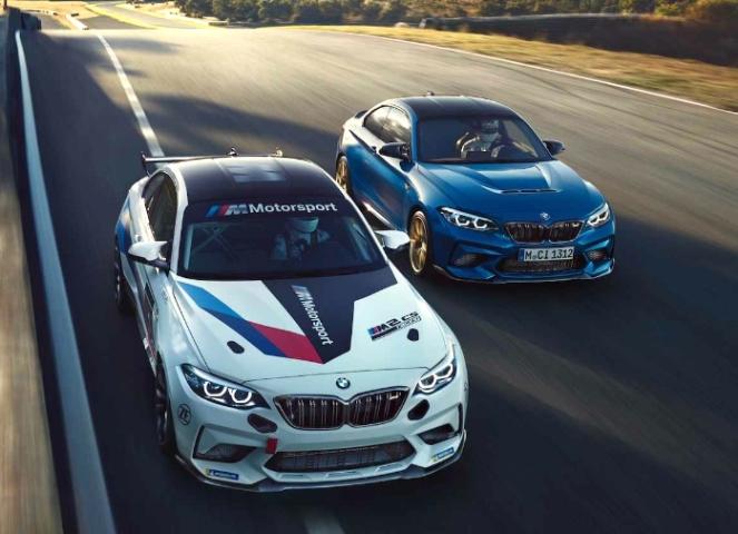 BMW M2 CS Racing, гоночное купе