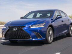 Новый Lexus IS не получит F-вариацию