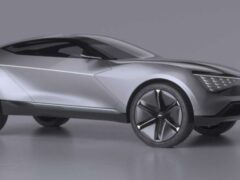 Компания Kia представила концепт нового электрического купе-кроссовера