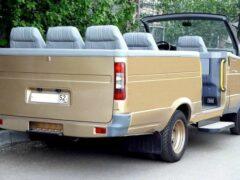 Интернет-пользователей удивил ГАЗ-2705 с обрезанным верхом