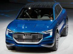 Audi выпустит 9 электрокаров в Китае к 2021 году