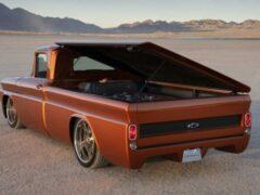 Chevrolet покажет полностью электрическую версию грузовика C10