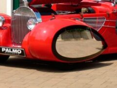 В Германии продают необычный кабриолет Delahaye