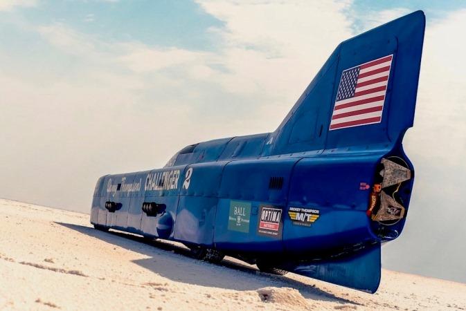 Challenger II Streamliner болид