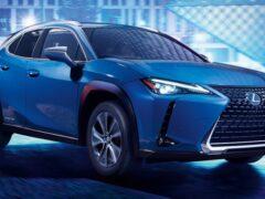 Lexus представил свой первый электромобиль Lexus UX 300e