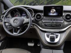 Mercedes-Benz V-Class получит систему MBUX