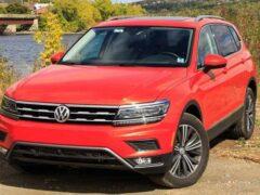 Обновленный Volkswagen Tiguan вывели на финальные тесты
