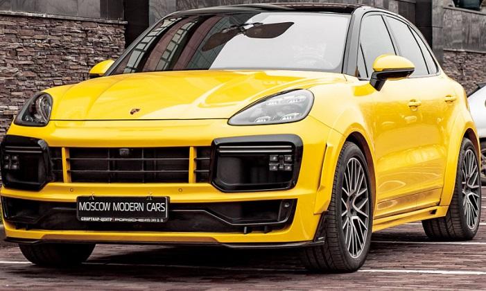 Porsche Cayenne Е3, тюнинг