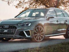 Ателье ABT доработало универсал Audi S4