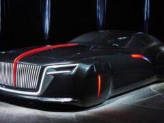 Появилась фотография Hongqi H7 2-го поколения от дизайнера Rolls-Royce
