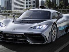 Новый гиперкар Mercedes-AMG One появится в 2021 году