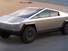 Полиция Дубая заказала пикап Tesla Cybertruck