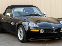 На аукцион выставили BMW Z8 из фильма про Джеймса Бонда