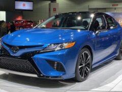 Toyota привезла в Россию спортверсию Camry S-Edition