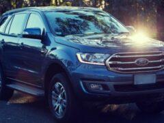 Ford объявил предзаказ на обновленный внедорожник Everest