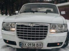 «Волгу» ГАЗ-3110 переделали под Chrysler