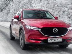 Кроссовер Mazda CX-5 получил зимнюю спецверсию для России