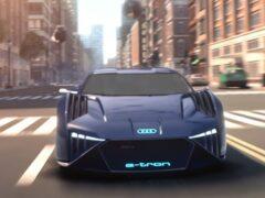 Audi показала концепт-кар для мультфильма