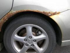 Как бороться со ржавчиной на старых машинах