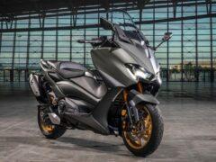 Yamaha показала на моторшоу обновленный макси-скутер TMAX
