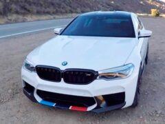 Мощность BMW M5 увеличили до 850 лошадиных сил