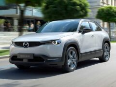 Электрический кроссовер Mazda MX-30 выйдет в продажу летом