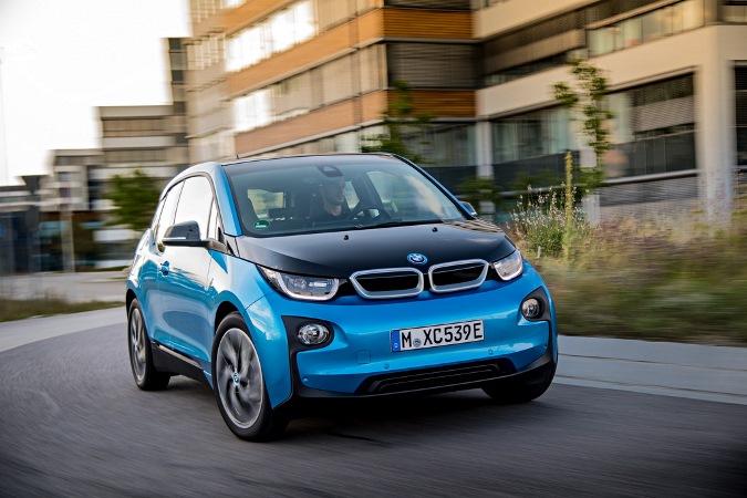 BMW i3, электрокар