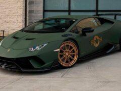 R1 Motorsports представили армейский Lamborghini Huracán Performante
