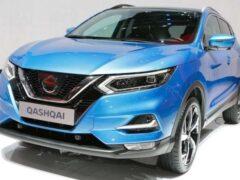 Российские продажи Nissan Qashqai в ноябре выросли на 7%