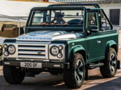 Представлен изумрудный Land Rover Defender от Overfinch