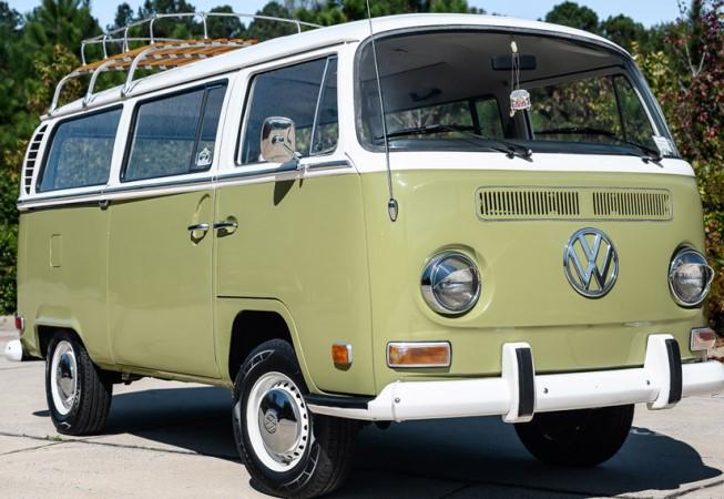 Volkswagen, микроавтобус, 1971 года