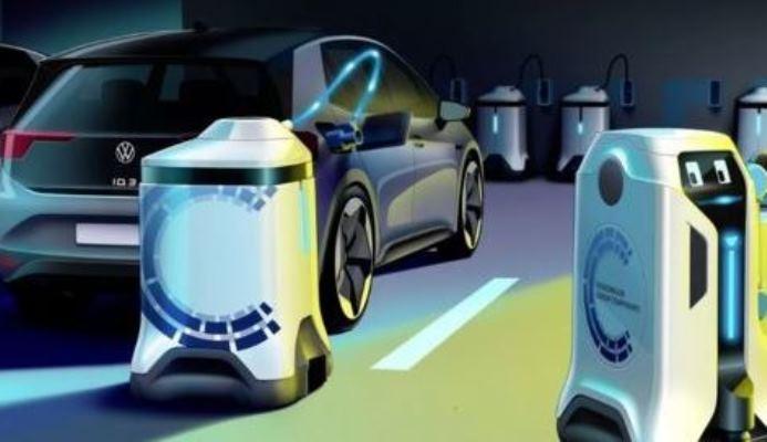 Volkswagen мобильные зарядные терминалы