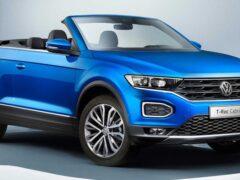 Стартовало производство нового Volkswagen T-Roc Cabriolet